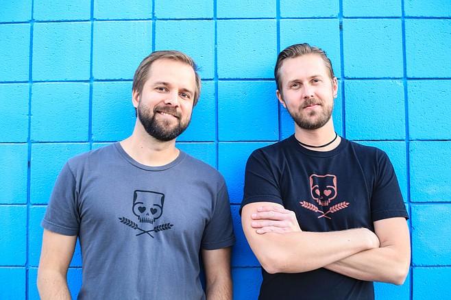 LOVELIKEBEER duo Derek Humbard (left) and Kory Stetina