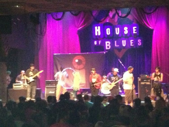 Subliminal Trip at House of Blues San Diego