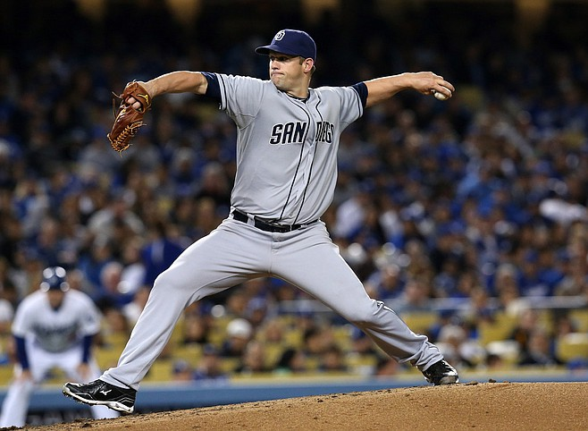Comeback player of the year? Maybe, but Padres starter Eric Stults is the easily biggest surprise on this year's roster.