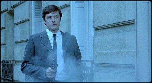 """Alain Delon in """"Un Flic."""""""
