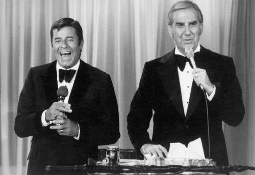 Pussycat mush and Telethon co-host, Ed McMahon.