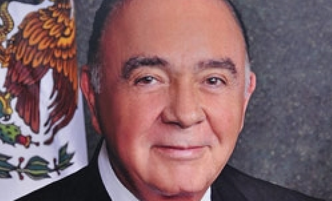 Tijuana mayor Carlos Bustamante