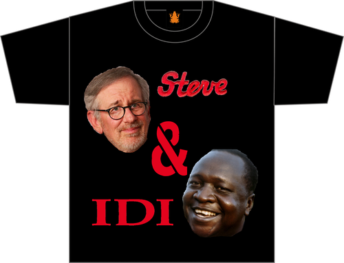 Steve & Idi.