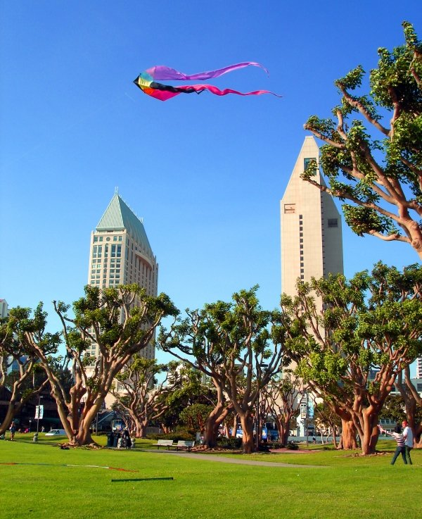 Downtown San Diego Area, Another day in Paradice