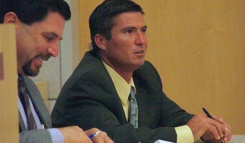 Attorney Rick Layon and Raul Licon Jr. Photo Weatherston.