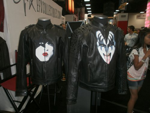 Kiss leather jackets were also available. Photo by Bart Mendoza