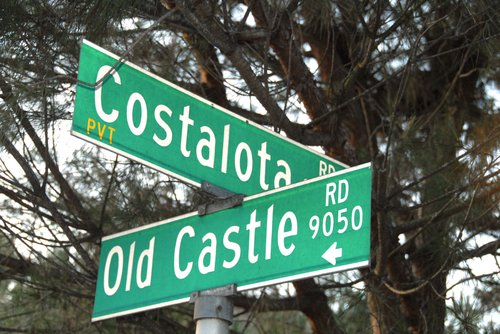 Lucero family lived on Costalota Road, in northern San Diego County. Photo Weatherston.