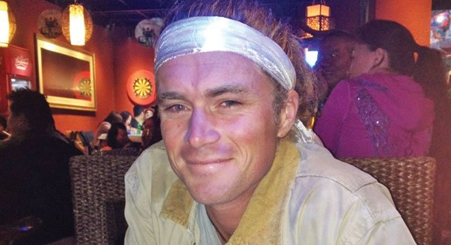 """Tennis pro Zeke Hindle in Tibet — he's ranked """"hundred-and-something"""" in the nation"""
