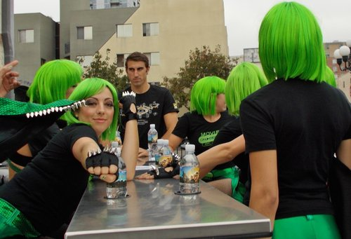 Progressive dining's going green?