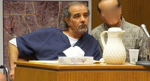 Alhimidi w Arabic interpreter in court today. Photo Weatherston.