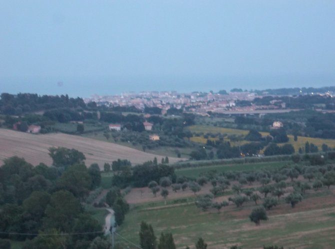Civitanova panorama.