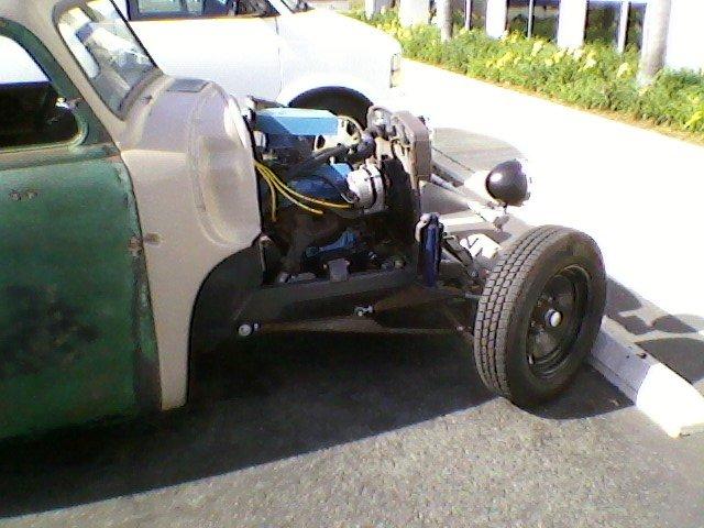 gmc rat rod at metal supply...