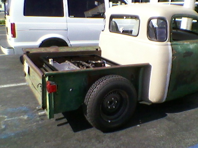 gmc rat rod at metal supply...