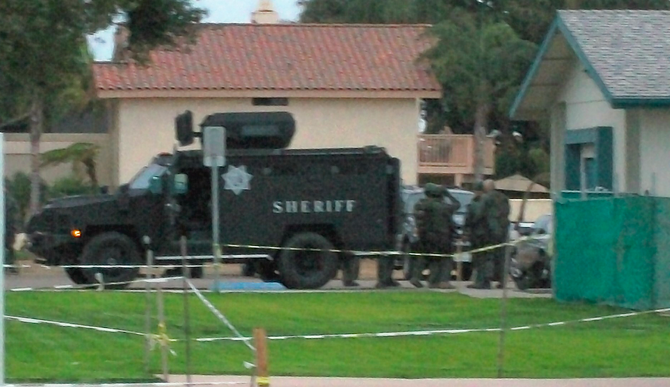 Fugitive In Custody After Standoff In Imperial Beach