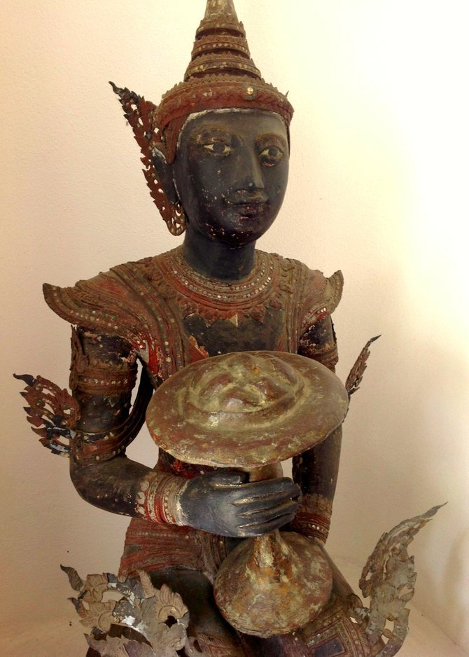 Relic from the ancient Kingdom of Lanna; Chiang Mai was its capital.