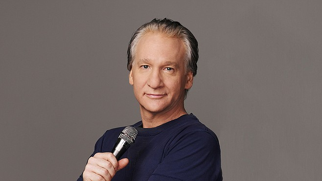 Political comic Bill Maher will have his say at Humphreys by the Bay Sunday.