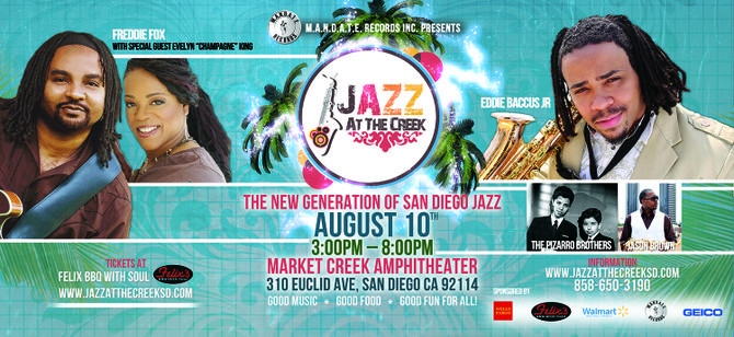 Jazz at the Creek Summer Concert Series final performance features hard-hitting fan favorites. Get your tickets today.