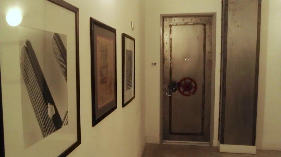 The doorway to the Vault.