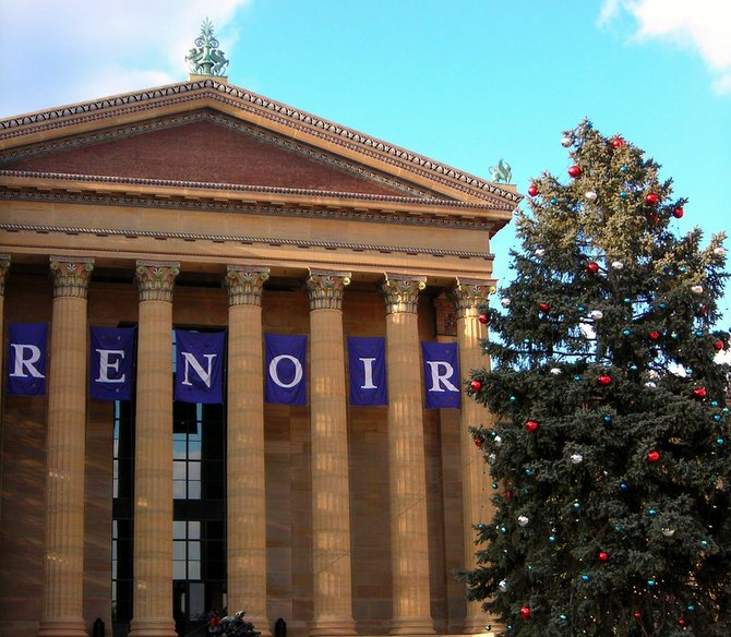 Renoir Exhibit at the Museum of Art in Philadelphia, PA