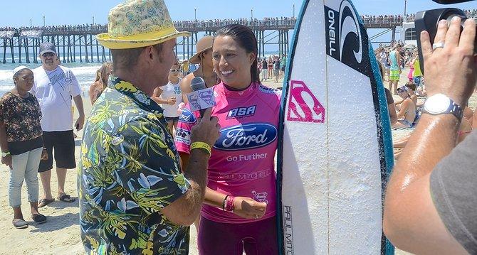 Malia Manuel, 19, of Hawaii won the championship. Photo Weatherston.