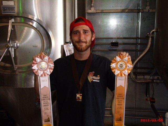 New Oceanside Ale Works brewer Jake Whyte