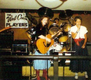 Joan Baez joins the West Coast Players with Suzanne Shea. Photo courtesy of Suzanne Shea.