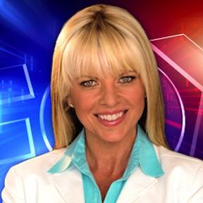 Newscaster Susan Lennon