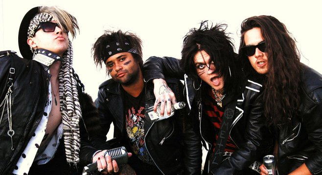 Purple Church drummer Prince (second from left) found dead — cause unknown at press time.
