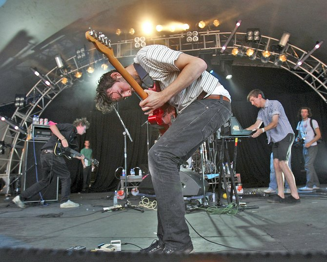 House of Blues has British post-rock five-piece Foals on Thursday night.