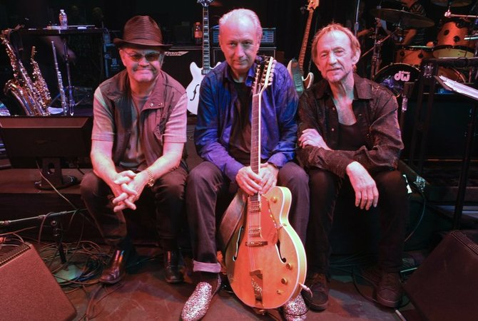 Television pop icons the Monkees swing into Humphreys on Sunday.