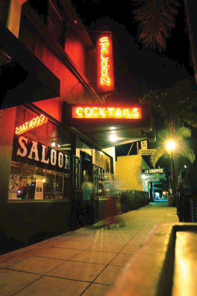 The Daley Double Saloon  in Encinitas easily transforms from a  mingling bar to a place to boogie.