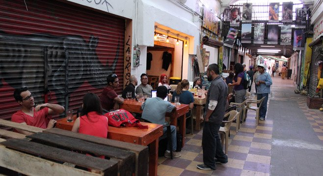 Mom-and-pop brewery Mamut offers all its beers at 15 pesos ($1.18)