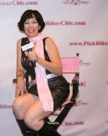 Eldonna - The Best-Looking Pink Biker Chic