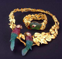 Gold n gemstone jewelry stolen in San Diego County, California.