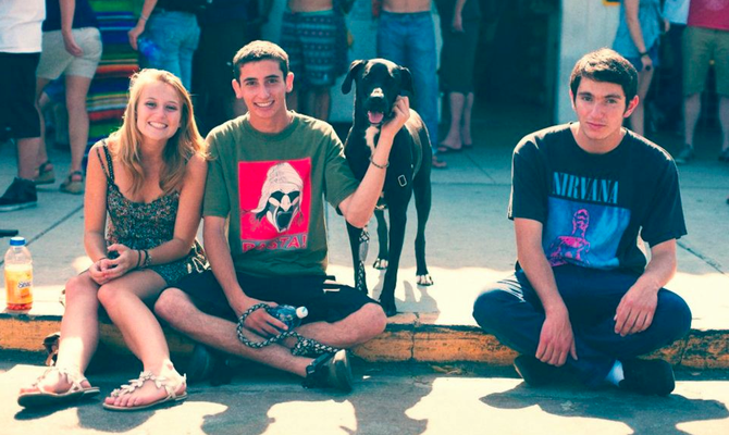 Photo of 2012 Golden Hill Street Fair attendees courtesy of Tommy McAdams