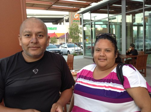 Mauricio and Gaby
