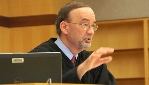 Honorable Judge K. Michael Kirkman. Photo Weatherston.