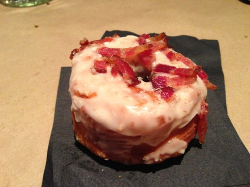 Bacon-maple donut for the win!