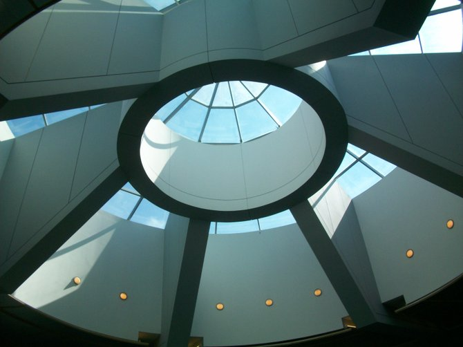 Skylight at new Terminal 2 expansion at San Diego Int'l Airport downtown.