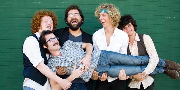 Bay Area banjo-rock band the Tumbleweed Wanderers blow into Soda Bar on Tuesday.