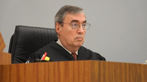 Honorable Judge Marshall Hockett. Photo Weatherston.