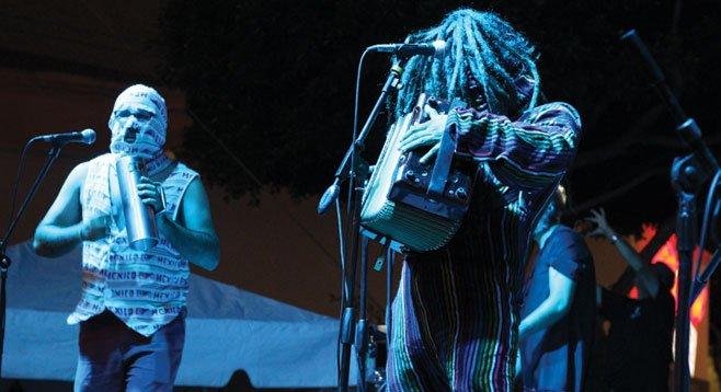 Tijuana cumbia mutants La Diabla channel the dance.