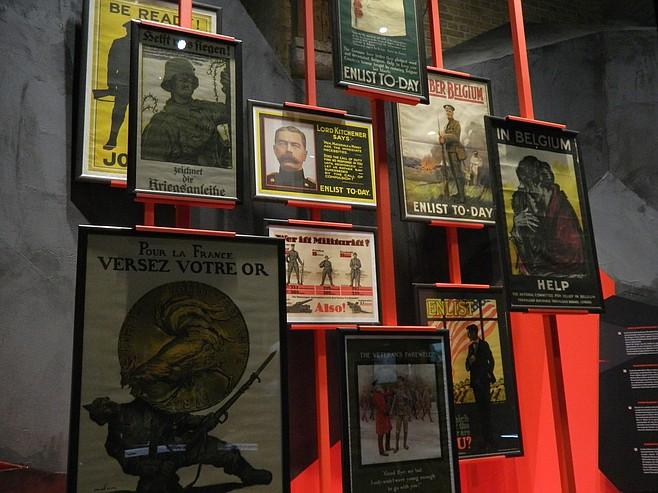 In Flanders Fields Museum exhibit.