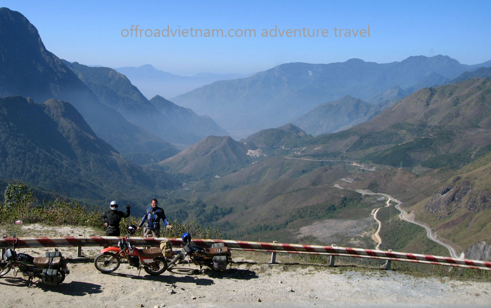 Another shot of Tram Ton pass, near Sapa