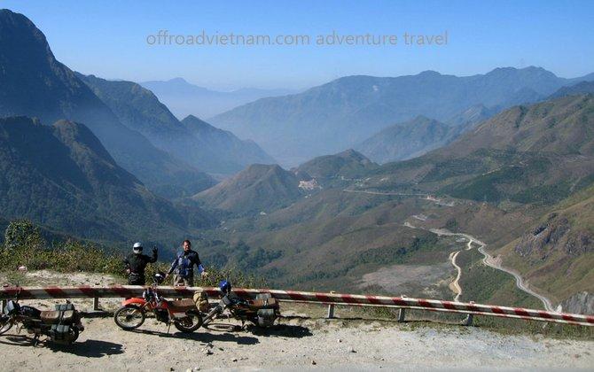 Another shot of Tram Ton pass, near Sapa