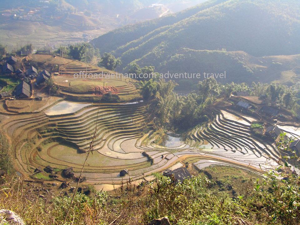 Ta Van village of Giay people in Sapa.