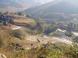 Ta Van village of Giay people in Sapa.