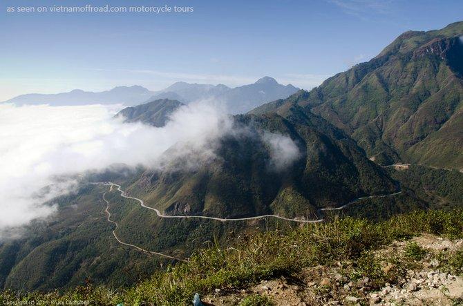 Tram Ton pass, near Sapa