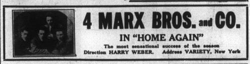 VARIETY, May 1915.