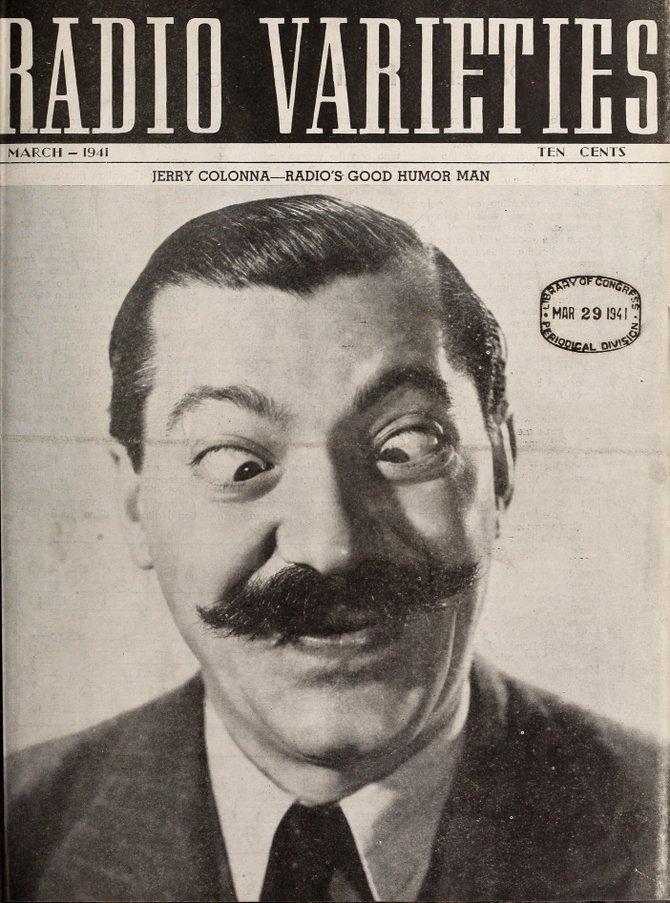 RADIO VARIETIES, March 1941.
